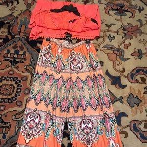 Melissa Paige peach set XL